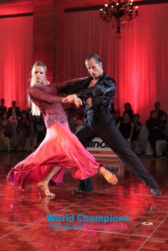 Сексуальное напряжение в бальных танцах